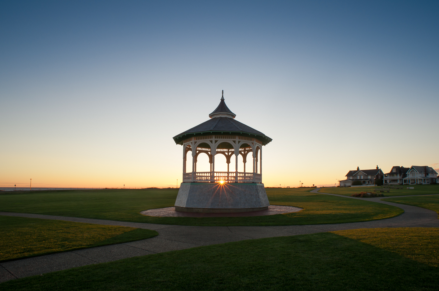 Ocean Park, Oak Bluffs, Gazebo, Sunrise, Alison Shaw
