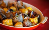 Clams, Corn, Food