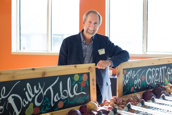 Doug Rauch cuts waste with food innovation
