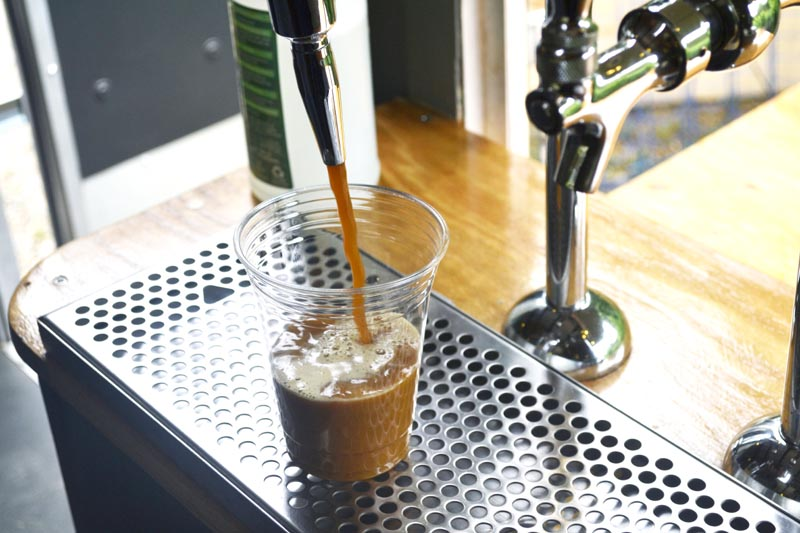 Nitro cold brew and where to find it on-Island