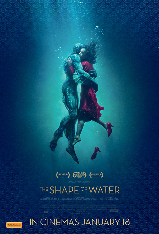 Love's magic captivates in 'The Shape of Water'