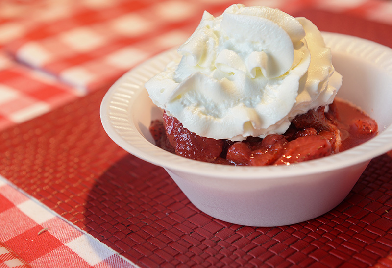Strawberry Festival at the First Congregational Church